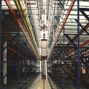 CONTAINER-PALLET RACKING SYSTEM